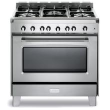 "Stainless Steel Verona Classic 36"" Gas Single Oven Range"