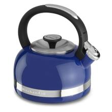 KitchenAid 2.0-Quart Kettle with Full Handle and Trim Band - Doulton Blue