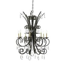 Grand Stairs Chandelier-verde