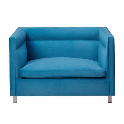 Tov Furniture - Beagle Blue Pet Bed