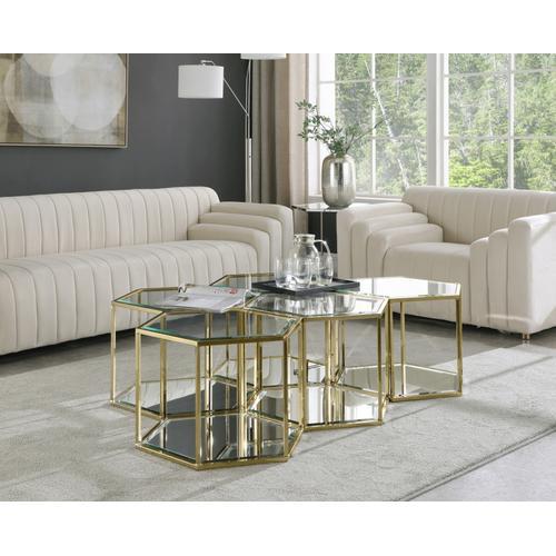 "Sei Modular 5 Piece Coffee Table - 60"" W x 40.5"" D x 16.5"" H"