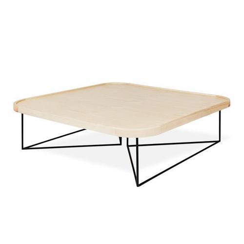 Porter Coffee Table - Square Blonde Ash