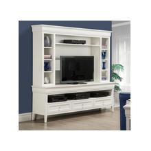 """View Product - Monticello 84"""" HDTV Cabinet with Hutch"""