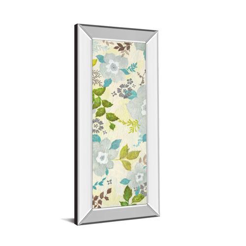 """""""Fragrant Garden I"""" By Tava Studios Mirror Framed Print Wall Art"""