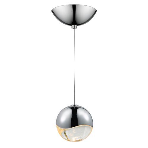 Sonneman - A Way of Light - Grapes® LED Pendant [Size=Single Large, Color/Finish=Polished Chrome, Shape=Dome Canopy]