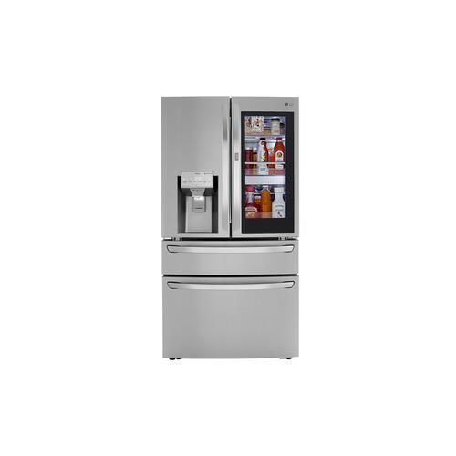 LG - 30 cu. ft. Smart wi-fi Enabled InstaView™ Door-in-Door® Refrigerator with Craft Ice™ Maker
