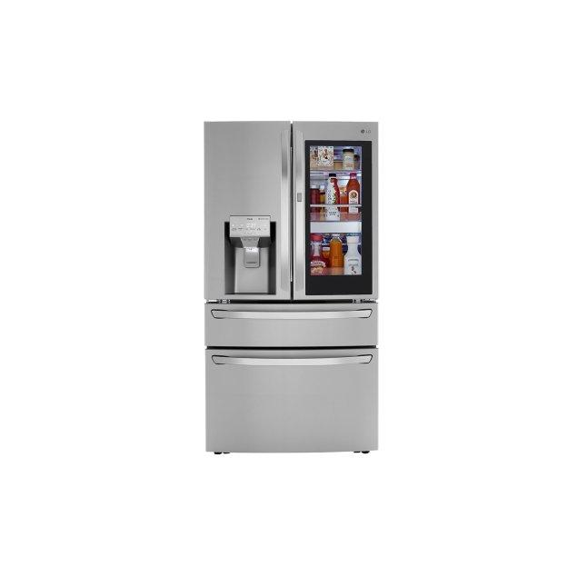LG Appliances 30 cu. ft. Smart wi-fi Enabled InstaView™ Door-in-Door® Refrigerator with Craft Ice™ Maker