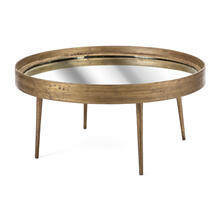 Arelia Mirror Top Table