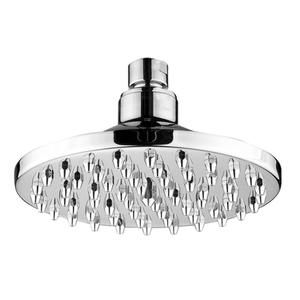 Showerhaus round rainfall showerhead with 62 easy-to-clean spray nozzles. Solid brass construction with adjustable ball joint. Product Image
