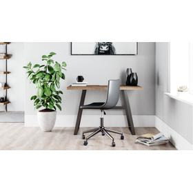See Details - Arlenbry Home Office Small Desk Gray