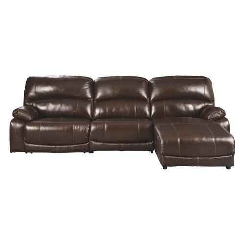 Signature Design By Ashley - Hallstrung 3-piece Power Reclining Sectional