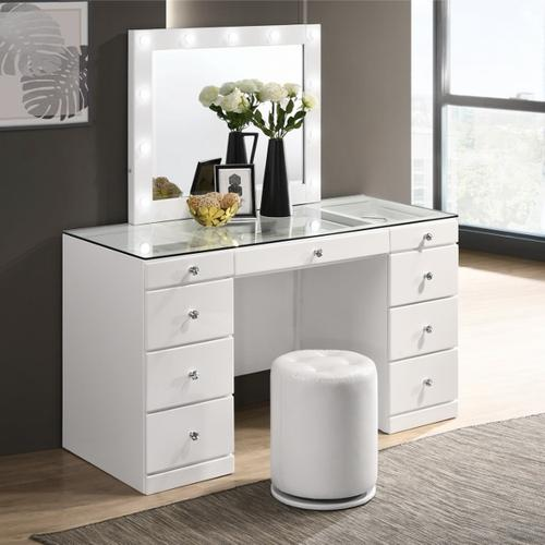 Avery Vanity Top W/led White