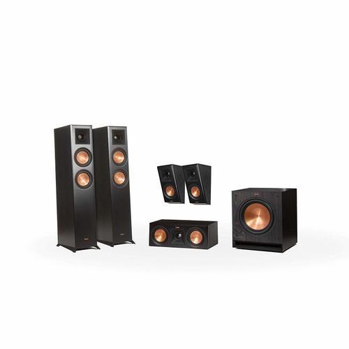 Klipsch - RP-5000F 5.1 Home Theater System - Ebony
