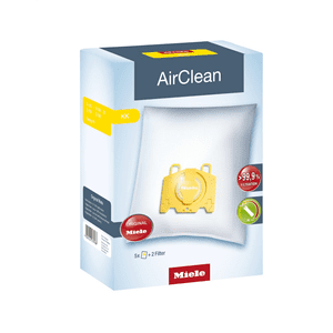 MieleDustbag KK AirClean 3D - AirClean KK dustbags ensures that dust picked up stays inside the machine.
