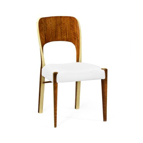 Hyedua and Celadon Side Chair, Upholstered in COM