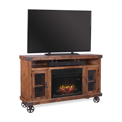 "62"" Fireplace Console"