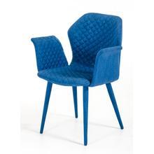 Astoria - Modern Blue Fabric Dining Chair (Set of 2)