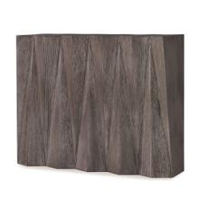 See Details - Accordion Console Table - Steel