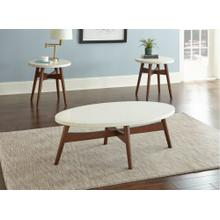 See Details - Serena Silverstone Round End Table