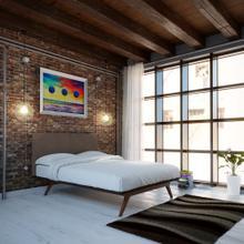 See Details - Tracy 4 Piece Queen Bedroom Set in Cappuccino Brown