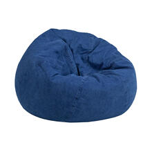 Small Denim Bean Bag Chair for Kids and Teens