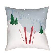 "Set Of Skis SKI-010 18""H x 18""W"