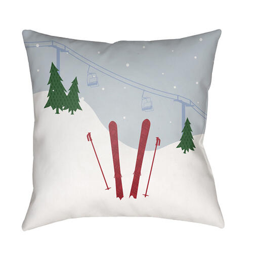 "Set Of Skis SKI-010 20""H x 20""W"