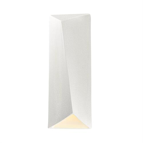ADA Diagonal Rectangle Outdoor LED Wall Sconce (Closed Top)