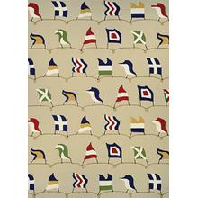 Outdoor Escape Nautical Flags - Sand 6852/6486