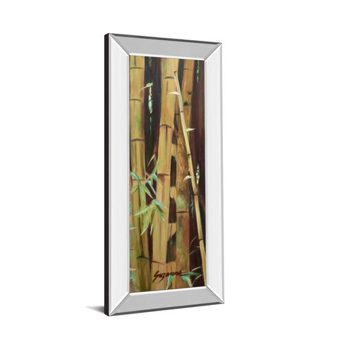 """""""Bamboo Finale Il"""" By Suzanne Wilkins Mirror Framed Print Wall Art"""