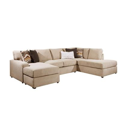 See Details - 8011 Flamenco Two Piece Sectional with Chaise