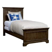 Chelsea Square Raisin Twin Panel Bed
