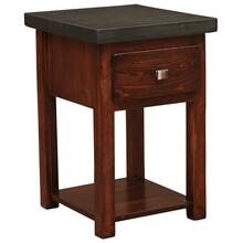 One Drawer Nightstand with Shelf - WoodShop Stains