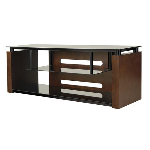 """60"""" TV Stand for TVs up to 65"""", Espresso"""