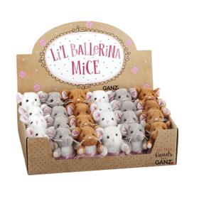 Li'l Ballerina Mice (24 pc. ppk.)
