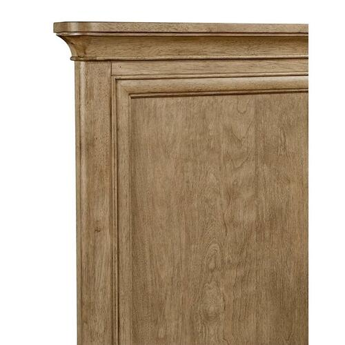 Chelsea Square French Toast Full Panel Bed