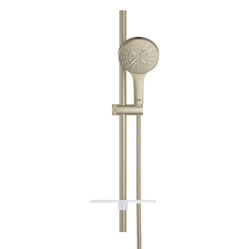 "Grohe - Rainshower Smartactive 24"" Shower Slide Bar Kit - 3 Sprays, 1.75 Gpm"