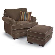 Lehigh Fabric Chair & Ottoman