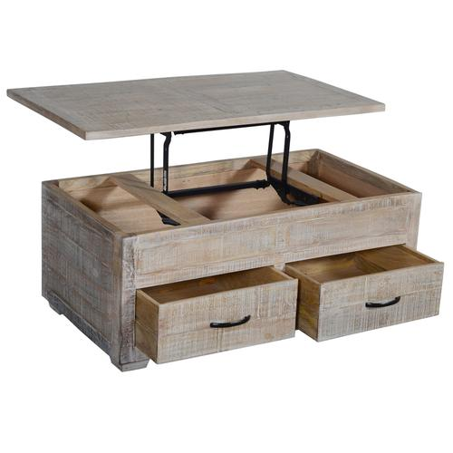 Crestview Collections - Brogden 2 Drawer Rectangle Cocktail Table