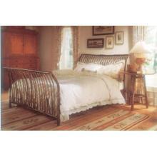 JP 55 Sleigh Bed (Queen Shown)