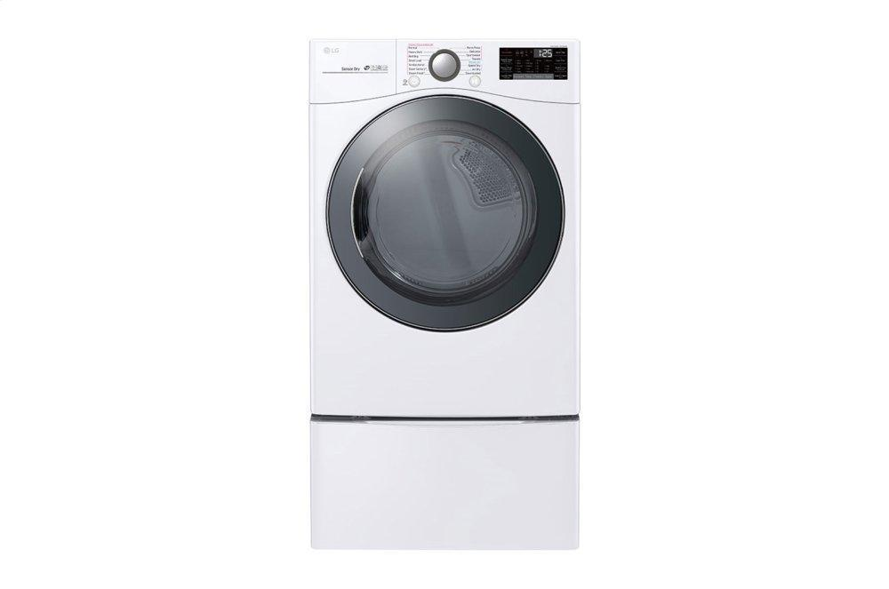 7.4 cu.ft. Smart wi-fi Enabled Electric Dryer with TurboSteam™