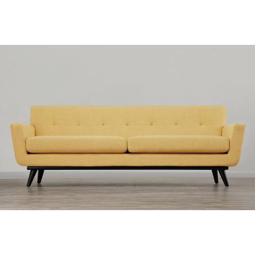 Product Image - James Mustard Yellow Linen Sofa
