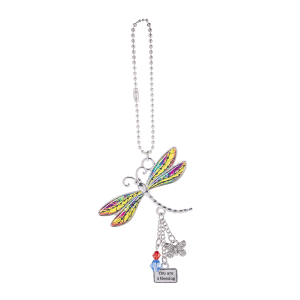 Live with Joy Dragonfly Car Charms (12 pc. ppk.)