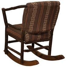 Hoop Rocking Chair - Natural Hickory - Standard Fabric