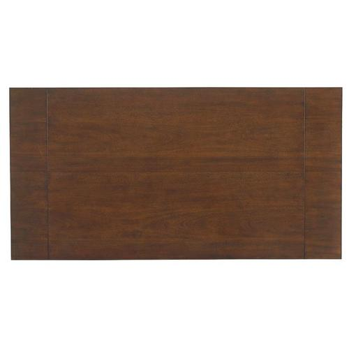 Woodmont Round Counter Height Table, Brown Cherry