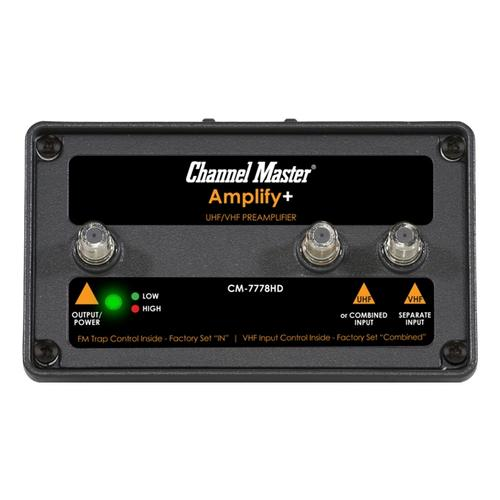 Amplify + Adjustable Gain Preamplifier for Professionals