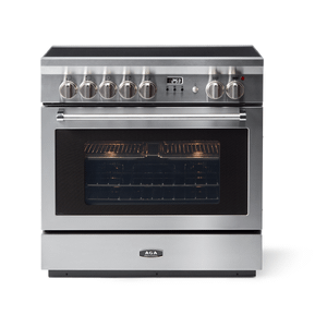 """AGAAGA 36"""" Professional Induction, Stainless Steel"""