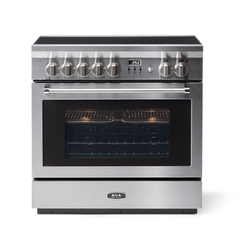 """AGA - AGA 36"""" Professional Induction, Stainless Steel"""