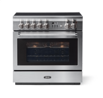 """AGA 36"""" Professional Induction, Stainless Steel"""