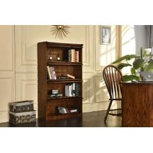 4-door Barrister Bookcase W/ Lift-up Slide Back Doors
